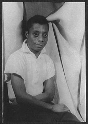 Portrait of James Baldwin, 1955 (Photo by Carl Van Vecthen, courtesy of the Library of Congress)