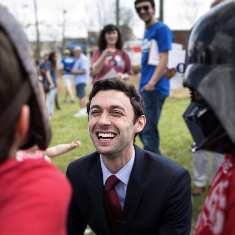 Georgia Democratic congressional Jon Ossoff