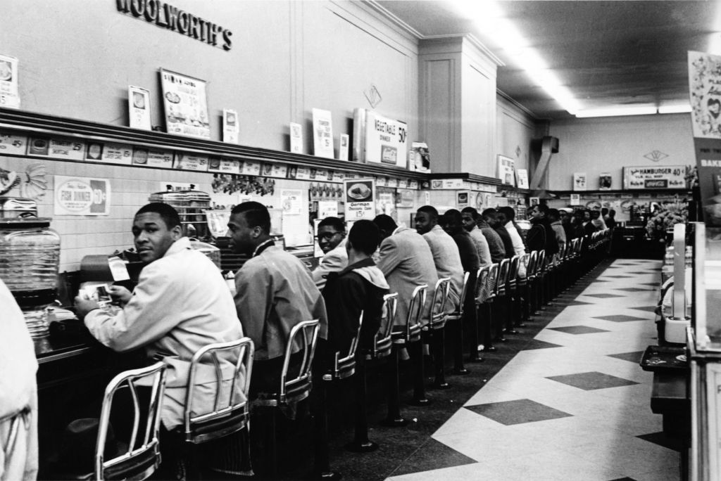 Lunch counter sit-in, Charlotte, North Carolina (Getty Images)