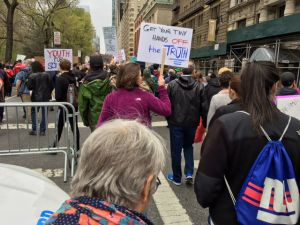 March for Science in New York City, April 22, 2017.