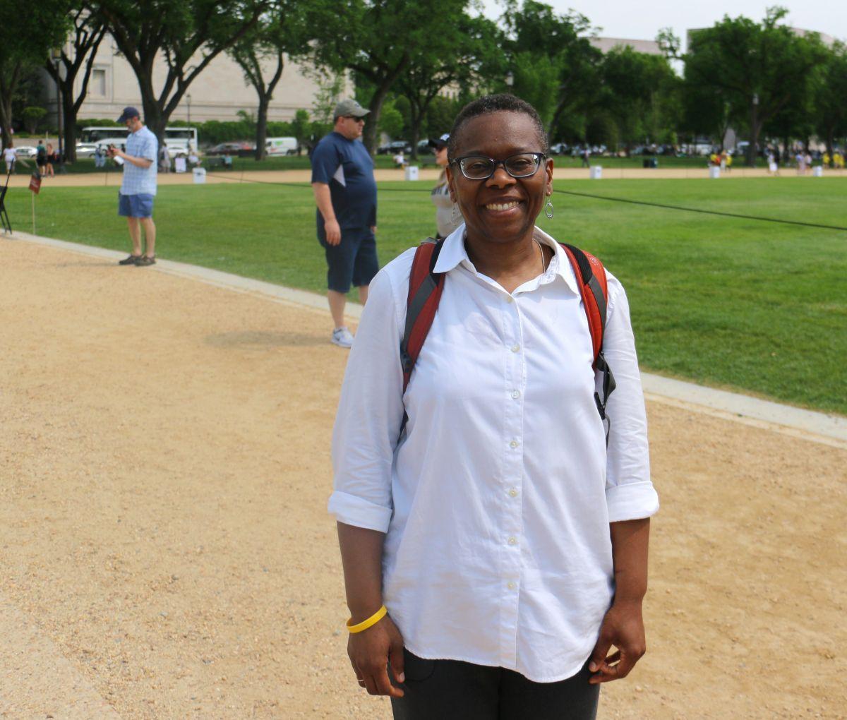 Montina Sraddha of Washington, DC. (Photo by Jessica R. Calderón)