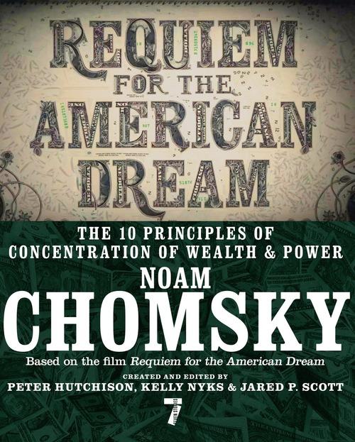 Cover of Noam Chomsky's Requiem for the American Dream