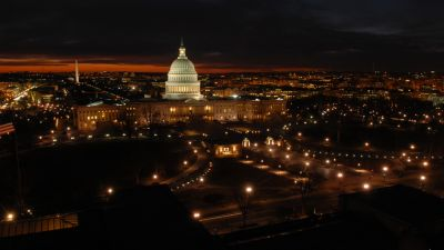 The Capitol viewed from Library of Congress Thomas Jefferson Building. (Photo courtesy of Architect of the Capitol)