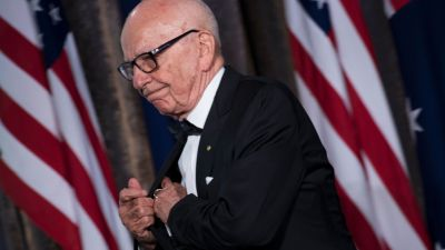 Rupert Murdoch, Executive Chairman of News Corp, on May 4, 2017 in New York. (BRENDAN SMIALOWSKI/AFP/Getty Images)