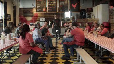 A scene from 'Hot Chicken, Fair Chance'