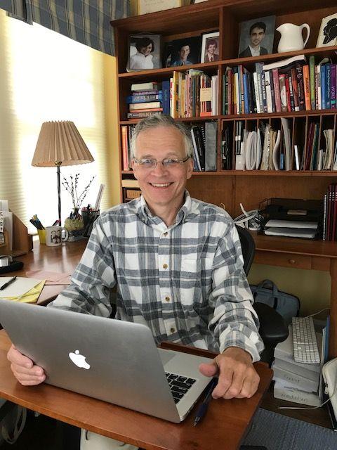 Steven Harper in his office
