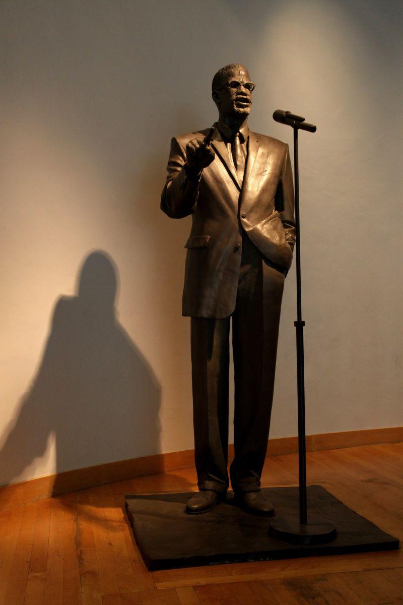 Malcolm X statue