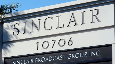 Sinclair Broadcast Group, the owner of the largest chain of television stations in the nation, in Hunt Valley, Maryland. (Photo by William Thomas Cain/Getty Images)