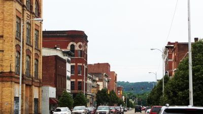 Downtown Portsmouth, Ohio. (Photo by Jack Shuler)
