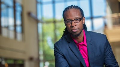 Ibram X. Kendi, author of Stamped from the Beginning.