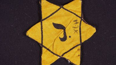 Belgian Jewish star. (Photo by DRG-fan, Wikimedia Commons | CC BY-SA 4.0)