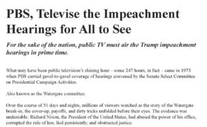 Bill Moyers and Michael Winship's New York Times Ad