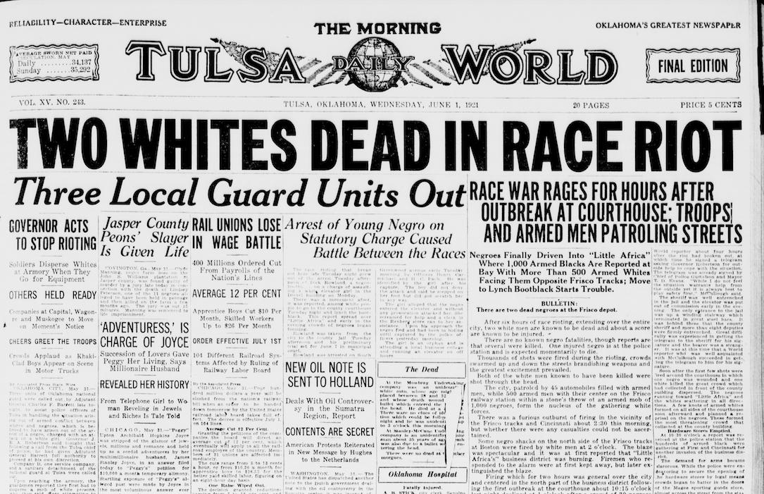 The Tulsa Race Massacre of 1921 – BillMoyers.com
